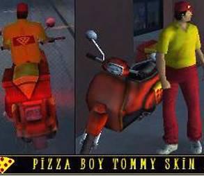 Skin Tommy Entregador de Pizza GTA