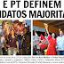 PSDB e PT definem seus candidatos majoritários