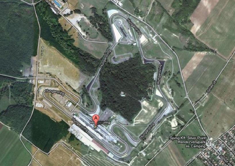 Hms hungaroring aut dromo localizado en mogyor d for Puerta 9 autodromo