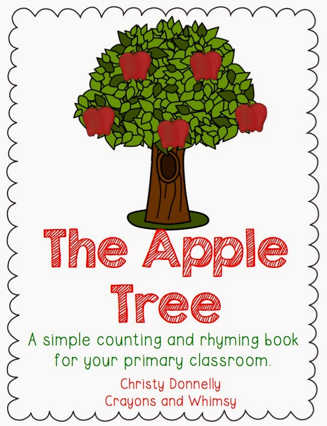 Apple Tree Book Kindergarten Crayons and Whimsy