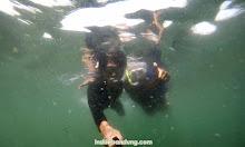 menikmati pesona underwater pangandaran