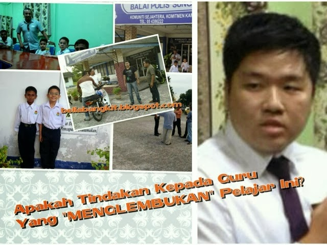 Guru SJKC Khai Meng Perak suruh murid pakai loceng dan makan rumput macam lembu