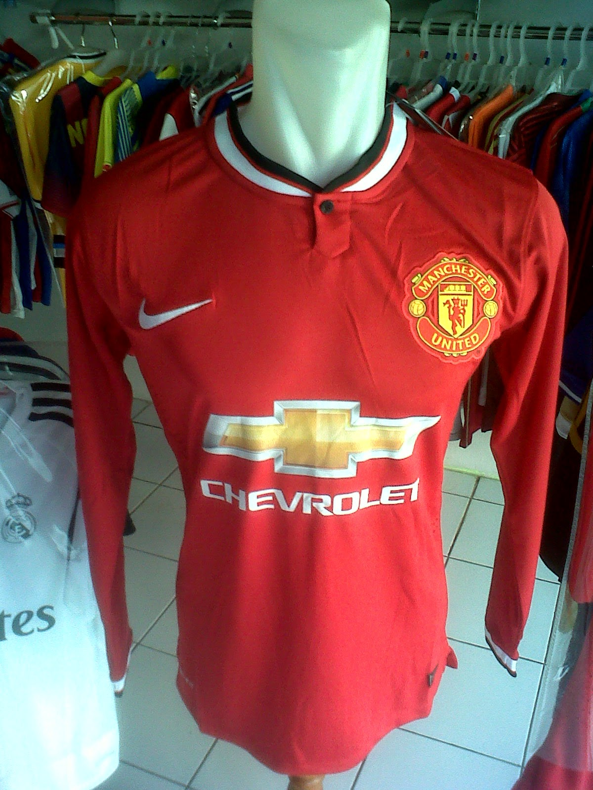 Jersey Manchester United Home LS 2014/2015