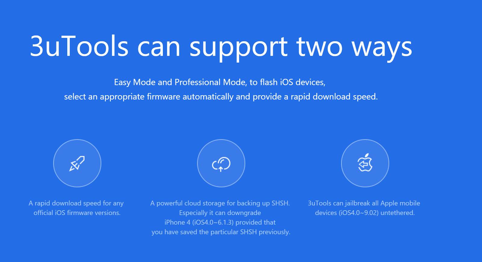 3u Tool Best Flash Jailbreak And Download Firmware For Ios