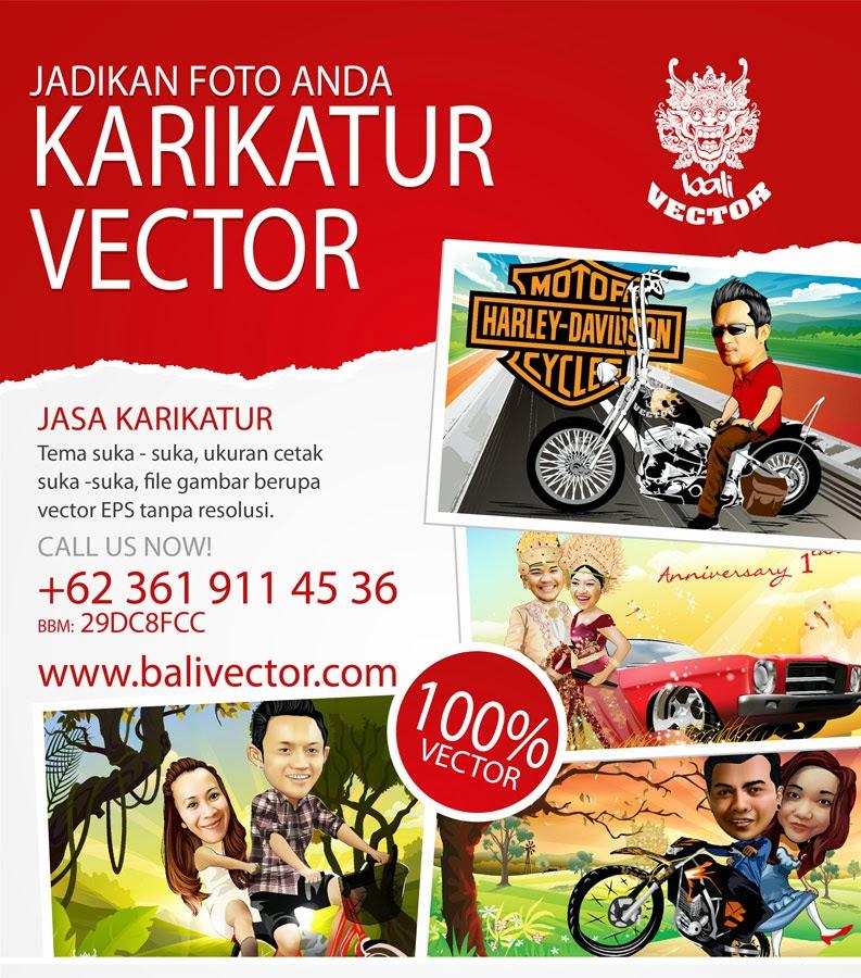 Jasa Karikatur Vector