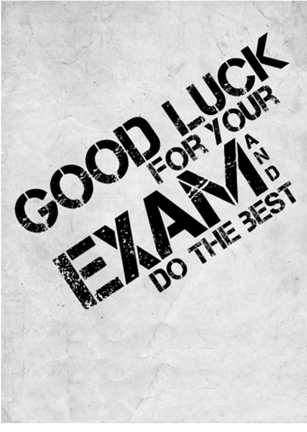 ... Few words @bout Myself...: Best of Luck for your Exam and Do the best