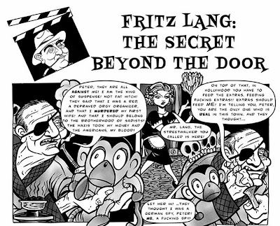 Fritz Lang comix by Sophie Cossette