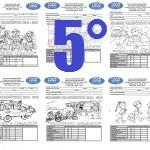 Examen Quinto grado Bloque I Ciclo Escolar 2015-2016