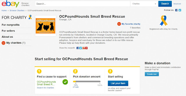 OCPH is an Official Ebay Charity