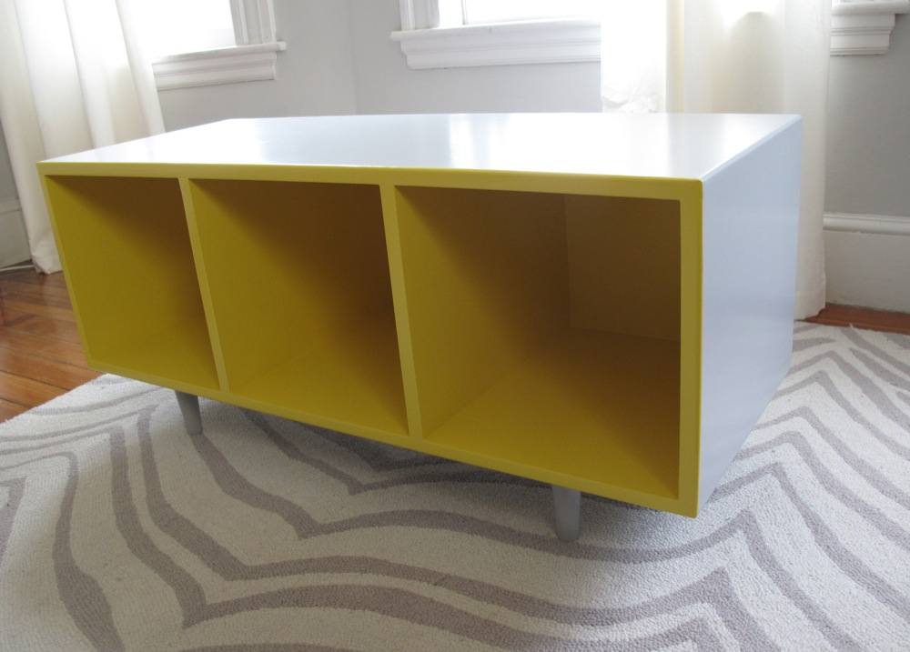 Blue Lamb Furnishings Modern Cube Storage Bench Sold