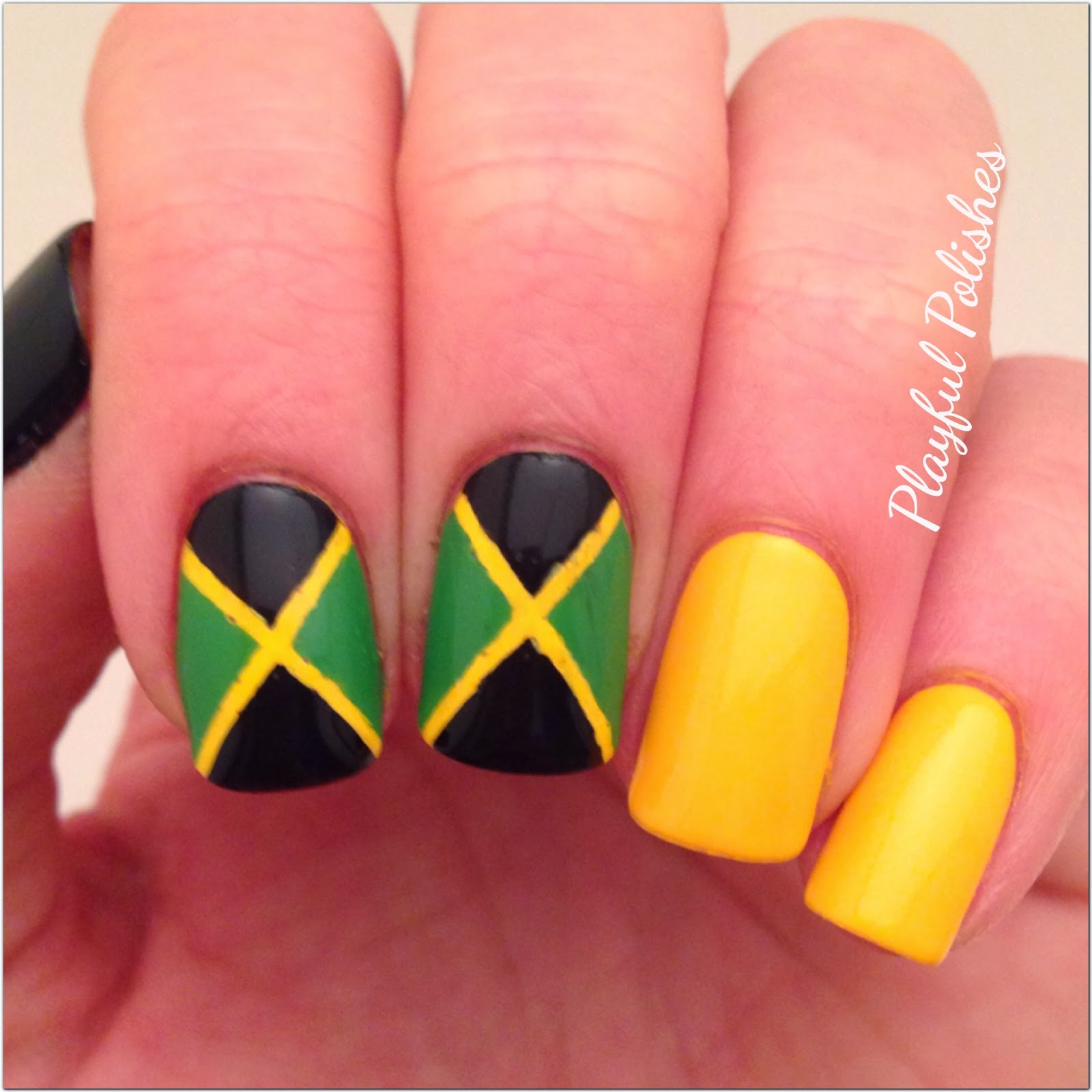 Playful Polishes: 31 DAY NAIL ART CHALLENGE: INSPIRED BY A FLAG