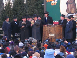 Did Punxsutawney Phil See His Shadow Today Video