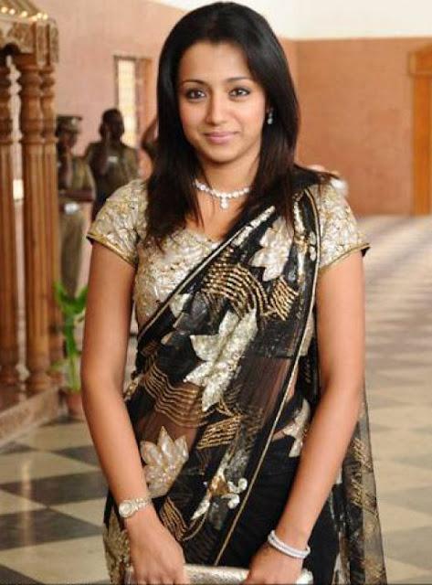 Trisha Krishnan In Saree
