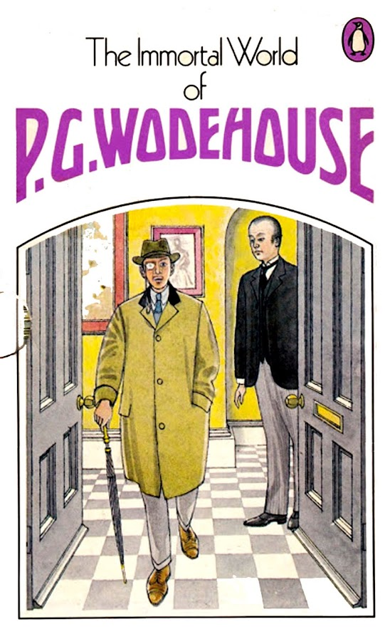 The Immortal World of PG Wodehouse (rear)