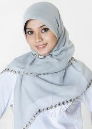 jilbab paris , cara memakai jilbab paris modern