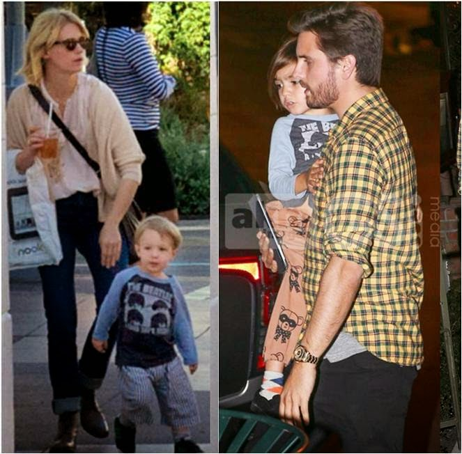 Mason Disick and Xander Jones