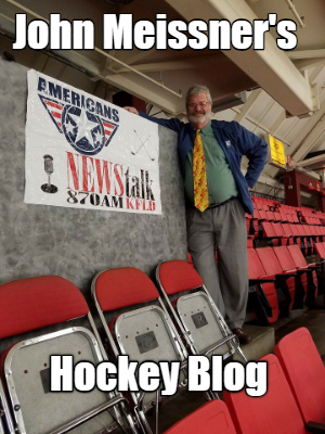 John Meissner's Hockey Blog  .