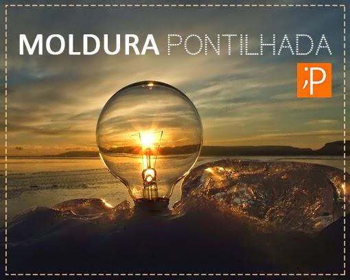 EFEITO MOLDURA PONTILHADA NO PHOTOSHOP
