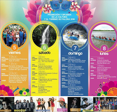 Programa completo carnaval de Palora Ecuador 2016