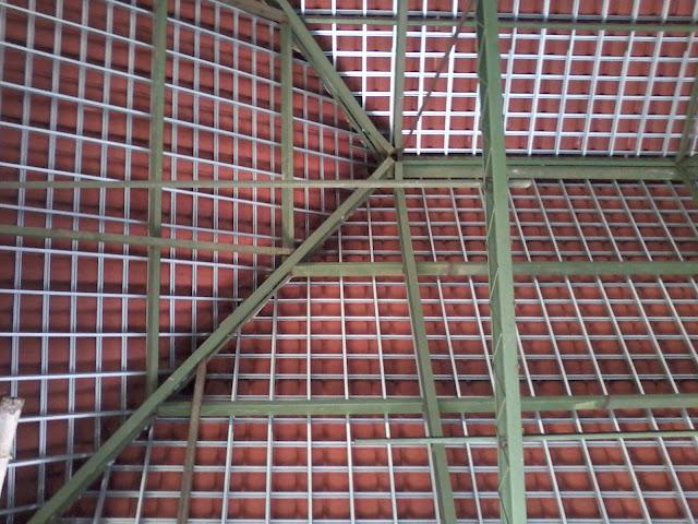 Atap Baja Ringan Dengan Genteng Keramik