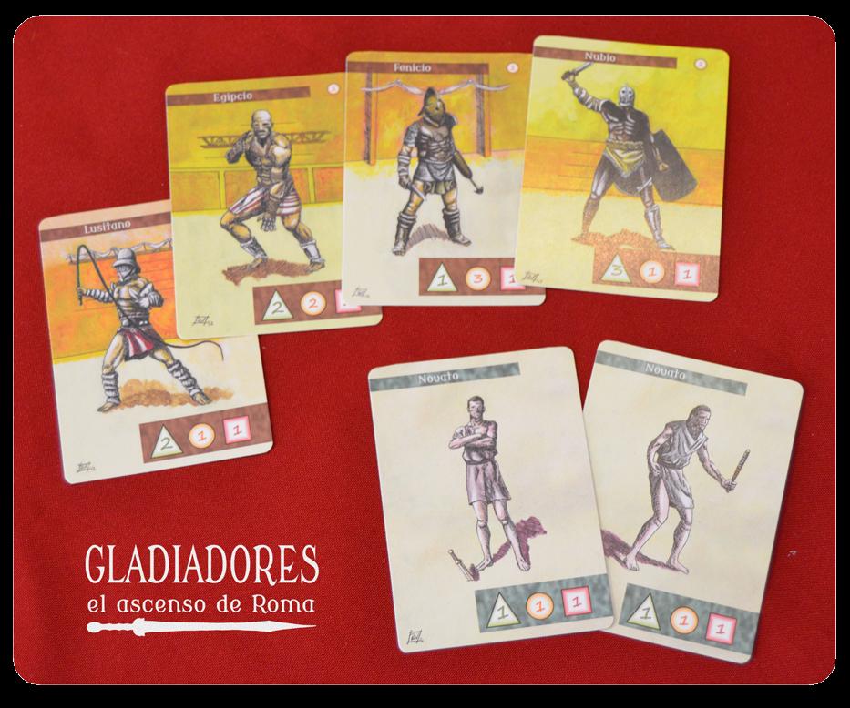 gladiadores: el ascenso de roma