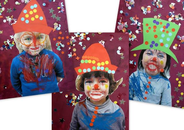 les petites t tes de l 39 art nos billes de clown. Black Bedroom Furniture Sets. Home Design Ideas