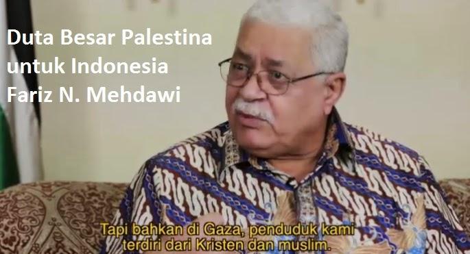 Duta Besar Palestina untuk Indonesia Fariz N. Mehdawi: Konflik Israel - Palestina Bukanlah Perang Agama