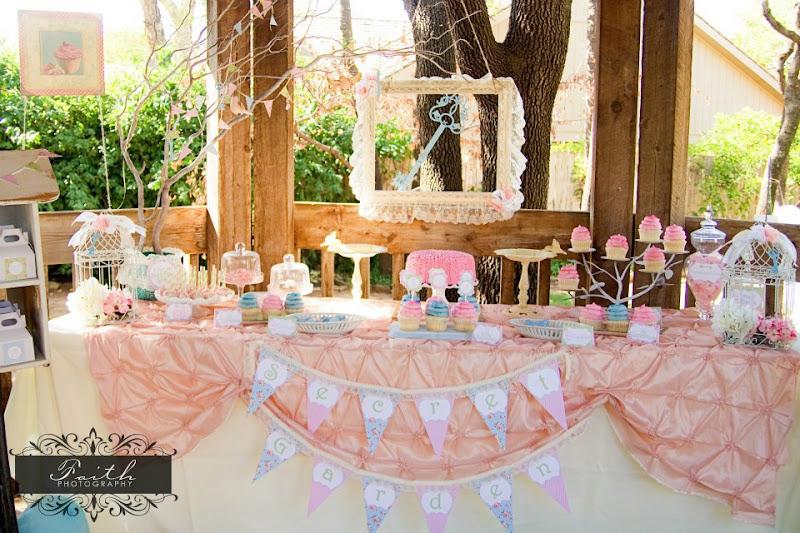 Karas Party Ideas 7th Birthday Secret Garden