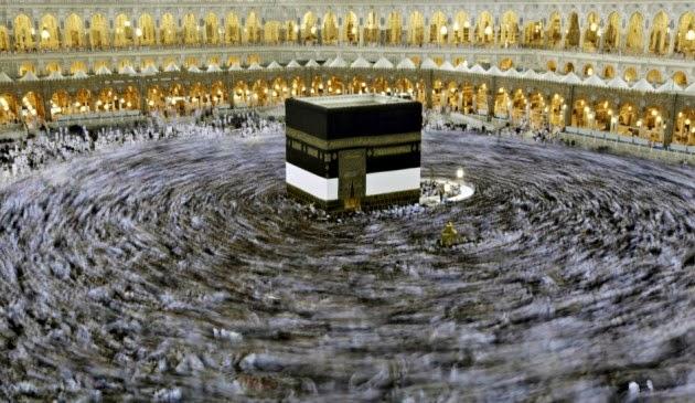 Tawaf keliling Kaabah