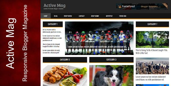 Active Mag – Themeforest