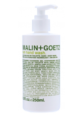 Malin + Goetz, Malin + Goetz Rum Hand + Body Wash, hand soap, the top 4 best hand soaps