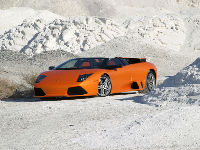 Sport Cars: Orange lamborghini murcielago wallpaper