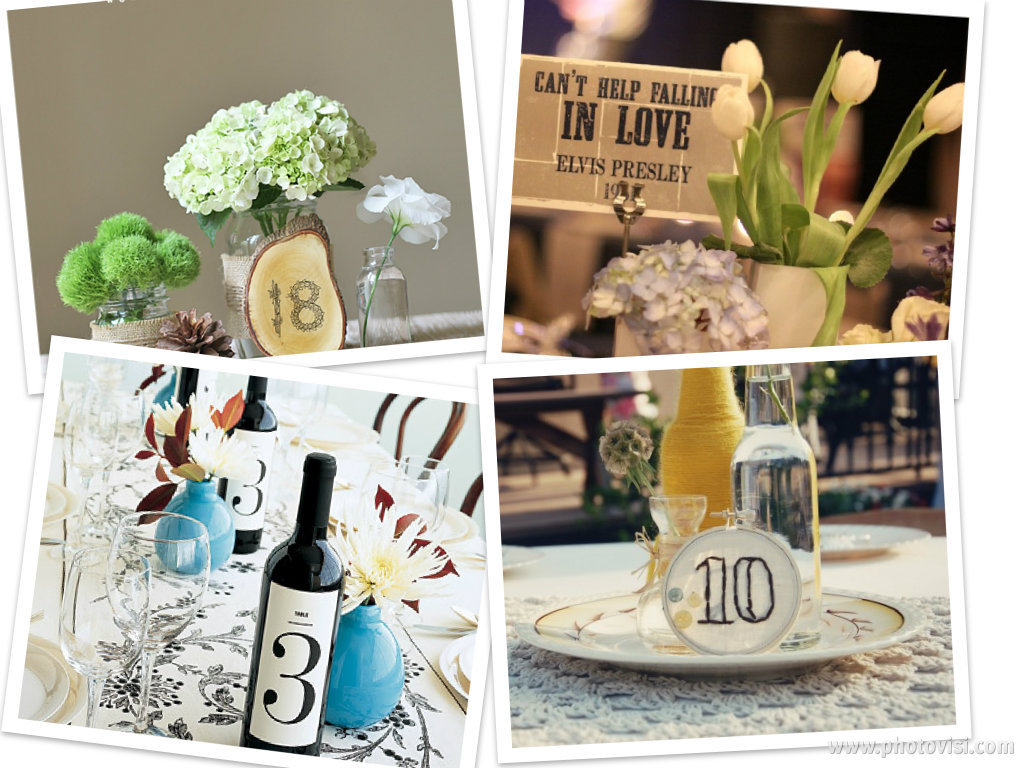 weddings are fun blog reception table number ideas