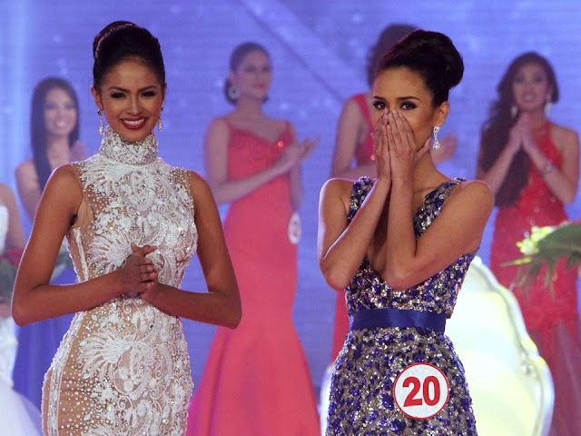 Miss World Philippines 2013 Janicel Lubina and Megan Young
