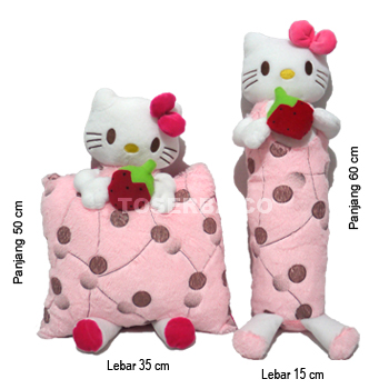 Gambar Bantal Guling Hello Kitty