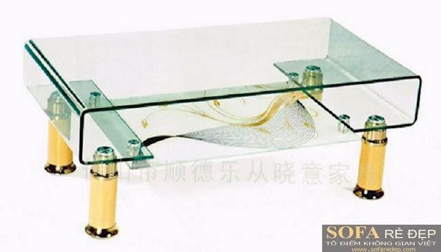 Bàn sofa kiếng 012HK