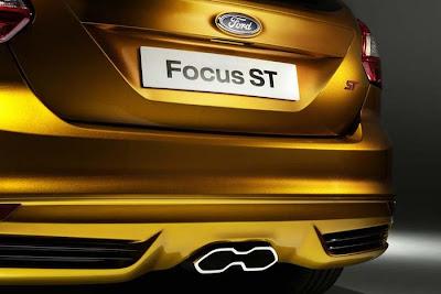 2012 Ford Focus ST Exterior.