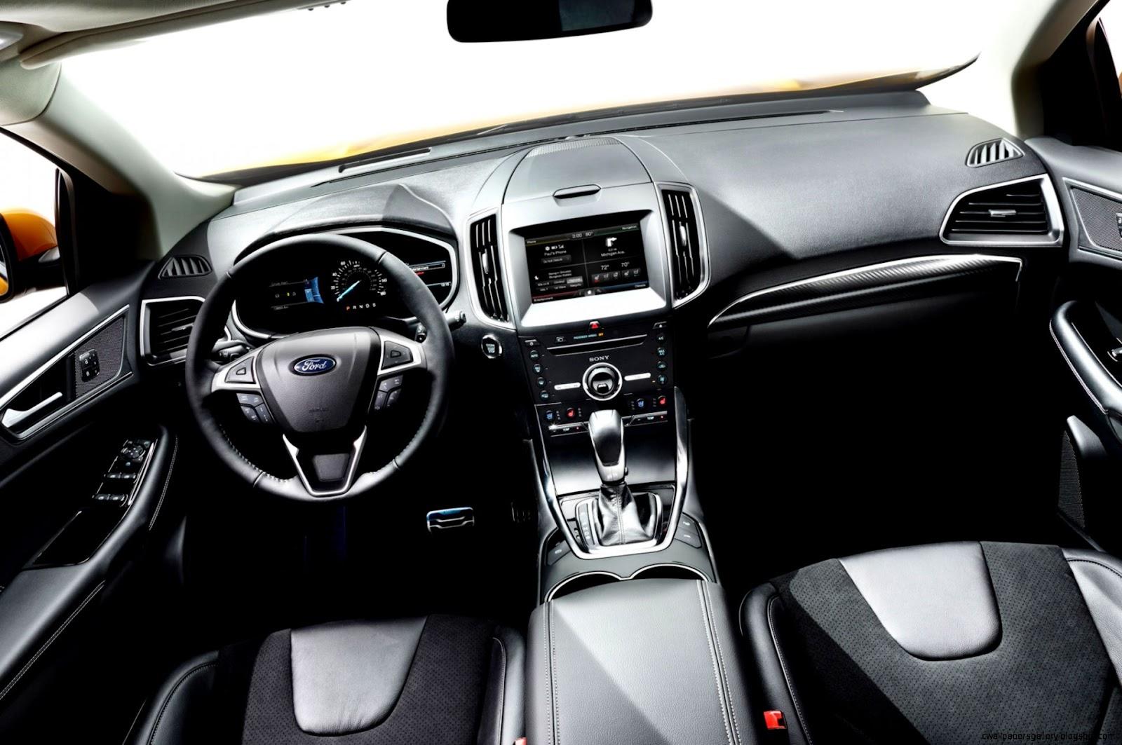 2015 Ford Edge Sport Interior