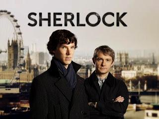 Sherlock Holmes and  Dr. John Watson HD Wallpaper