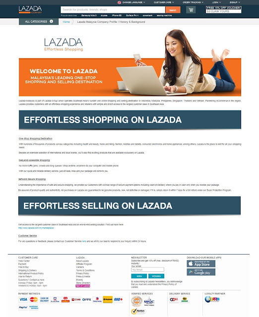 Welcome to Lazada