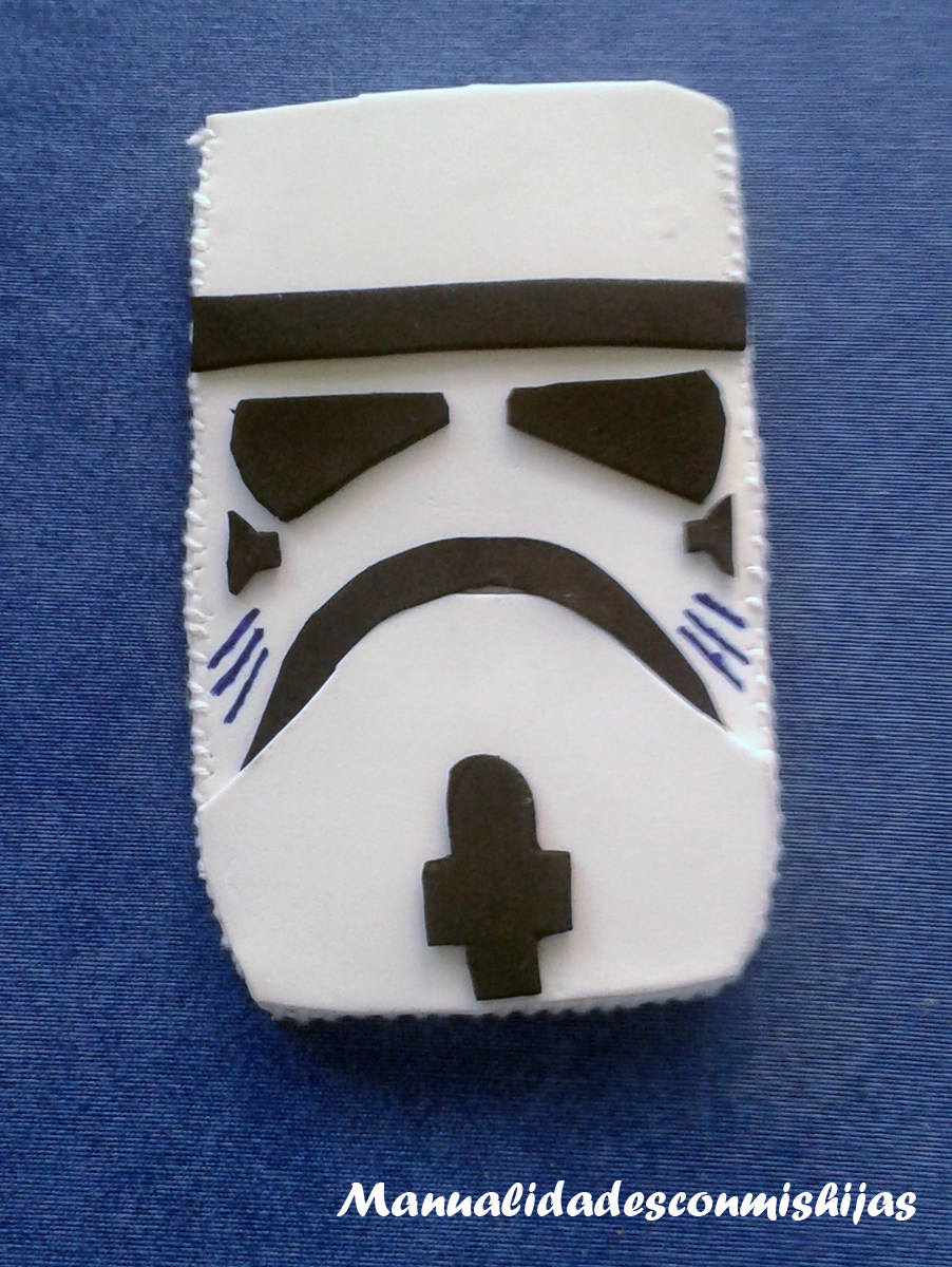 Funda de movil - Soldado imperial de Star wars