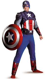 Plus-Size-Captain-America-4th-July-Costumes