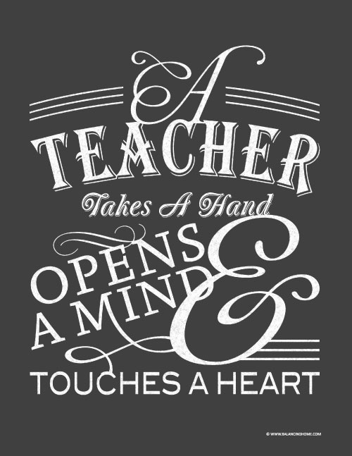 printable teacher quotes quotesgram
