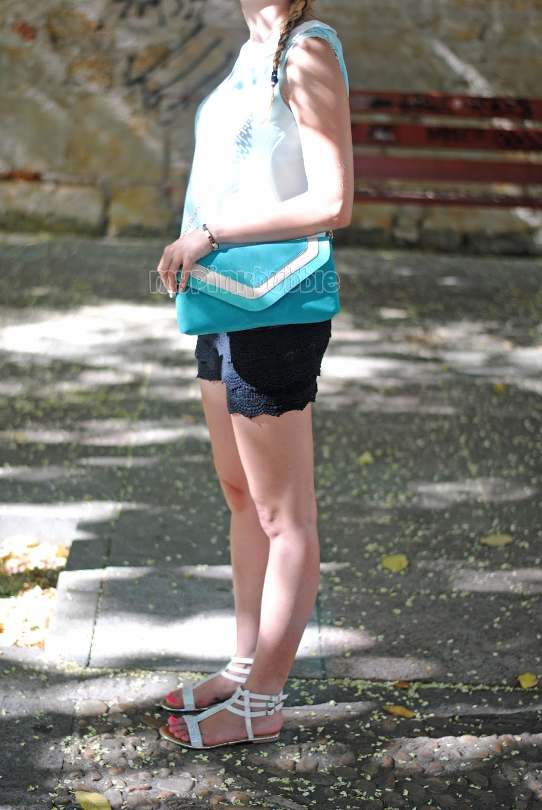 outfit verde mint