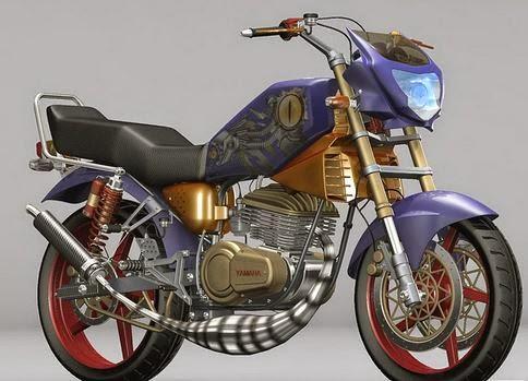 Foto Modifikasi RX King Motor Yamaha Klasik Terbaru Sangar