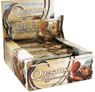 """ПРОТЕИНОВЫЕ БАТОНЧИКИ от  """"Quest Nutrition"""""""