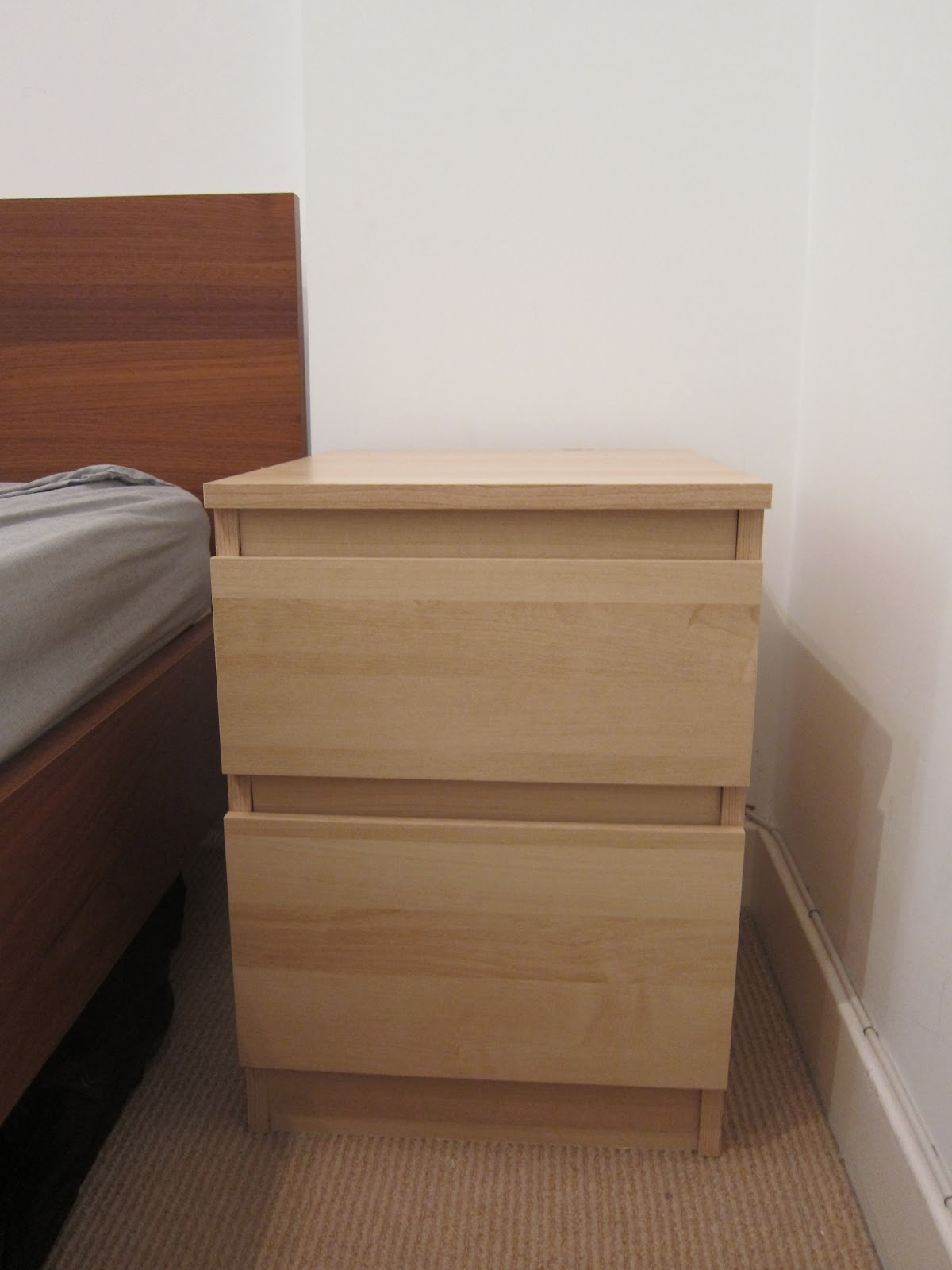 malm bedside table instructions