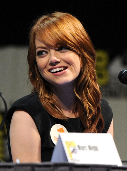 emma stone's different angle