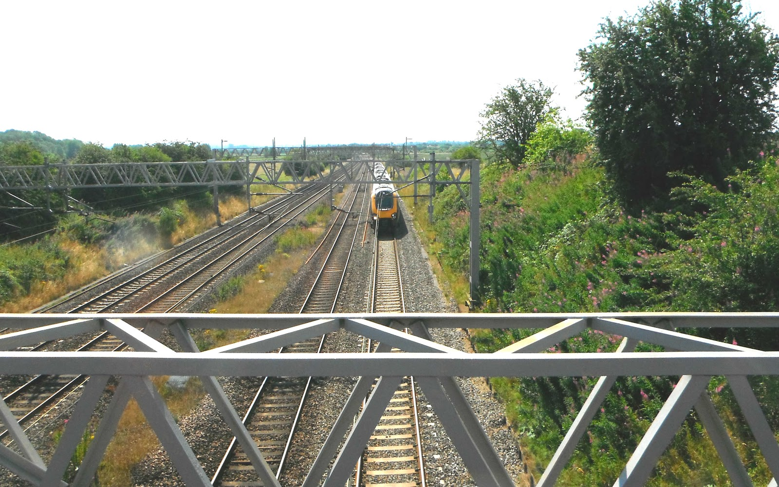 West Coast Main Rail Line at Creswell