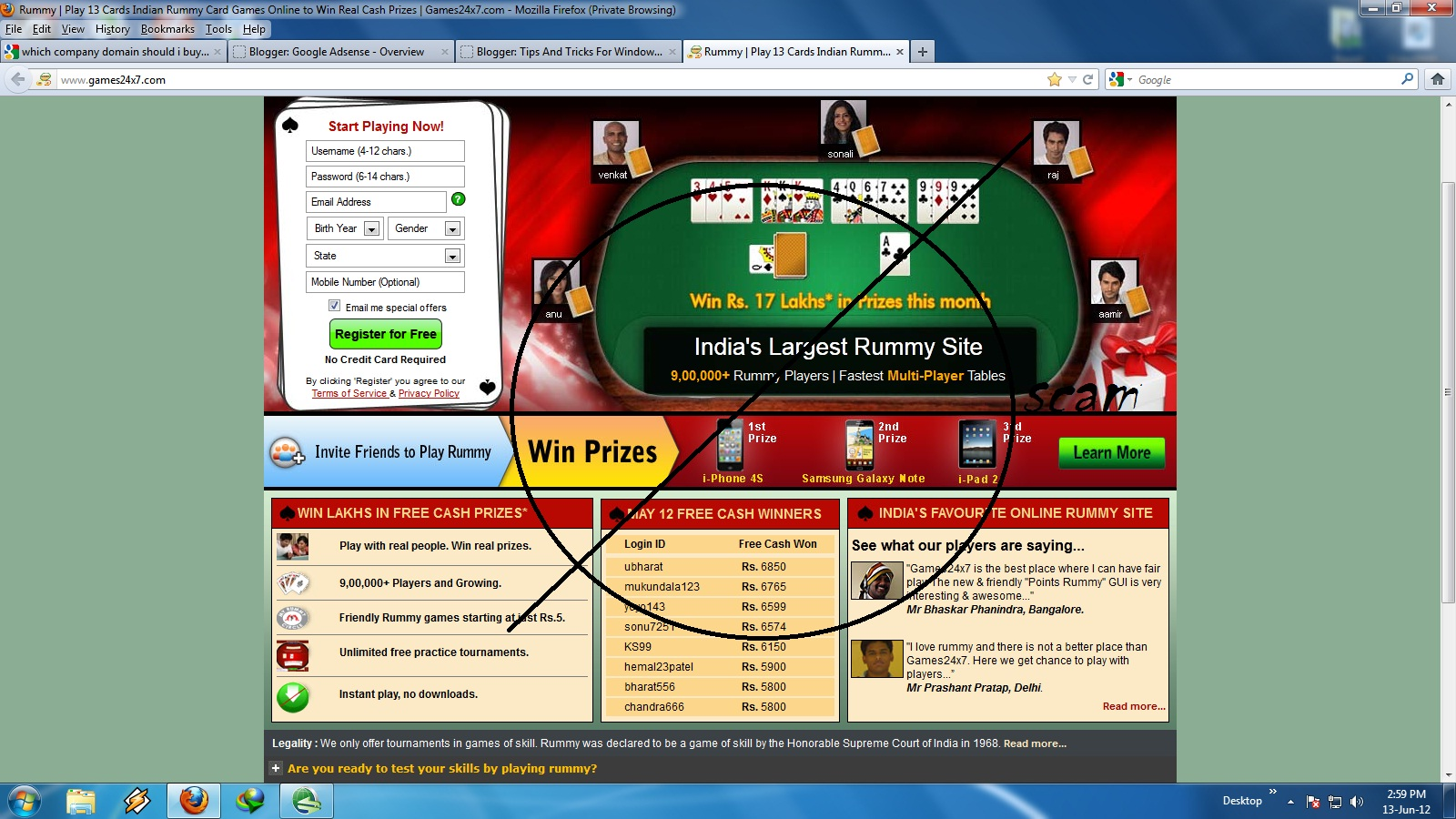 Online gambling win cash commerce casino lapc 2008